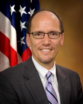 Tom Perez.  Credit: Wikimedia Commons